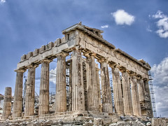 Curves of the past (Faddoush) Tags: architecture nikon curves hellas athens parthenon greece acropolis hdr faddoush