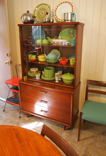 Another retro collection of china and furniture, via Flickr: MODERN REVIVAL