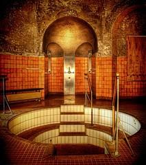 The Pool (Batram) Tags: pool golden bath decay bad gotha artnouveau urbanexploration stadt hdr jugendstil urbex schwimmbad hallenbad stadtbad batram veburbexthuringia vebstadtwirtschaftgotha