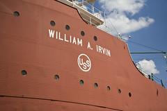 Nameplate (Brett Lakanen) Tags: minnesota 4thofjuly duluth canalpark williamairvin ironoreboat