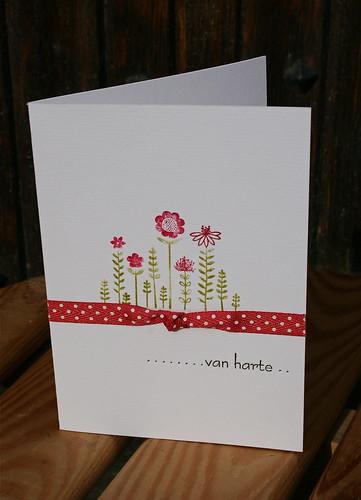 a flowercard