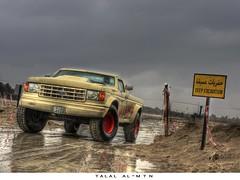 Ford Truck F-250 (Talal Al-Mtn) Tags: ford truck 1991 kuwait talal q8 f250  one8   almtn talalalmtn
