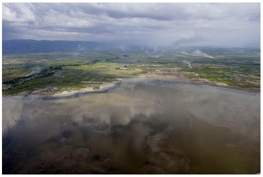 Første billede i serien fra Haiti. Foto: Klavs Bo Christensen