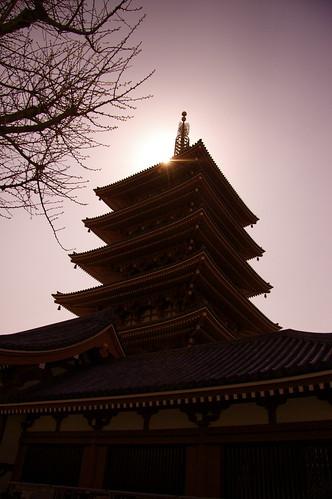 Sensoji Temple's Pagoda