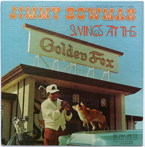 Jimmy Bowman Swings at the Golden Fox by afrojet