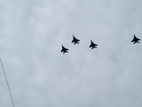 F-15C opening day comerica
