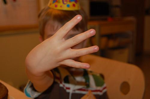 I'm four.