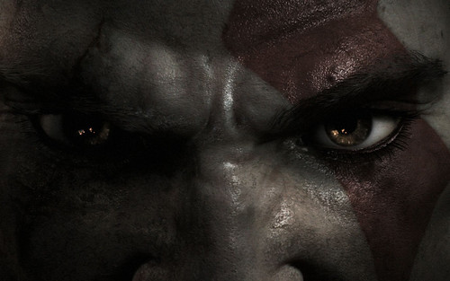 God of War III - Kratos Eyes Base
