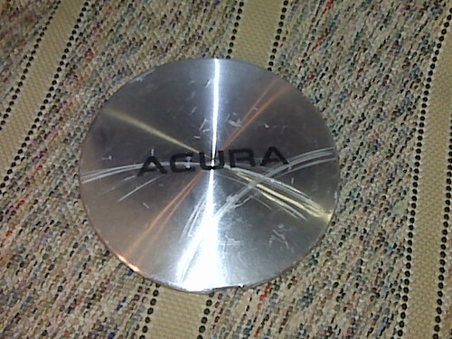 WHEEL CAP 91- 94 Acura Legend Center OEM