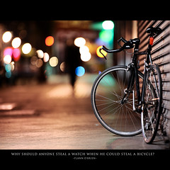 Day One Hundred Five (Dustin Diaz) Tags: sanfrancisco lighting bike bicycle wheel vancouver umbrella wednesday nikon dof exercise bokeh hipster vehicle 365 missiondistrict stubby featured project365 pocketwizard hbw 200mmf20g strobist dustindiazcom d700 sb900 sharpasef dedfolio
