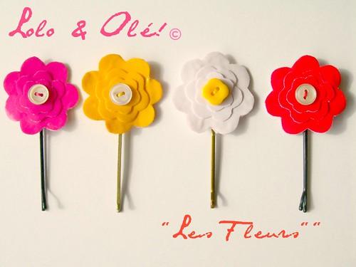 "Colección ""Les fleurs"""
