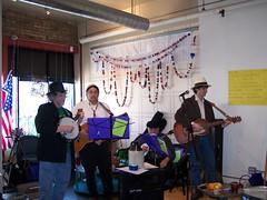 2009-04-11 Jug band Seder 015