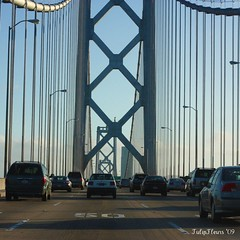April 24th 115/365 . . . West Bound on the Bay Bridge (TulipFleurs) Tags: baybridge uninspired project3661
