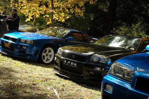 nissan skyline r34 blue. Nissan Skyline R34 GT-R