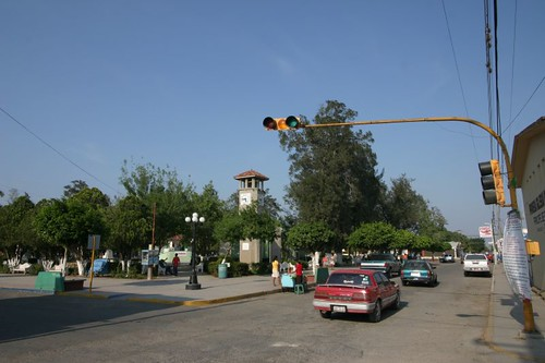 Aldama main square.
