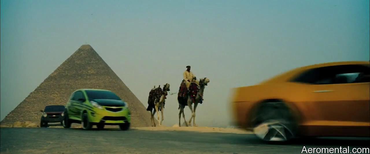 Autobots pirámides Egipto