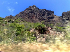 Gran Canaria - Driving on the Countryside