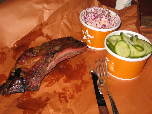 Beef Rib at Hill Country