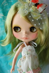 Custom Blythe~Mint Garden~1