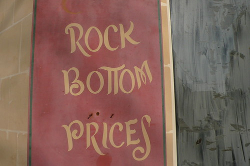 Rock bottom prices