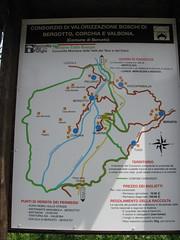 Bergotto, Corchia e Valbona