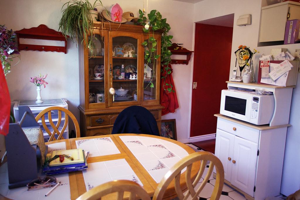 Kitchen II Has Garden Window on Left