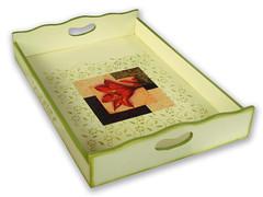 Bandeja - Decoupage (Minhas Crias) Tags: artesanato mdf decoupage estencil trabalhosmanuais vernizmarítimo