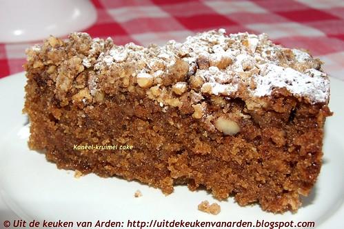 Kaneel-kruimel cake