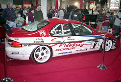 1997 Dodge Stratus Race Car (splattergraphics) Tags: racecar dodge 1997 mopar carshow stratus marylandstatefairgrounds fwdmopar motortrendinternationalautoshow daviddonohue luthervilletimoniummd northamericansupertuningseries natscc