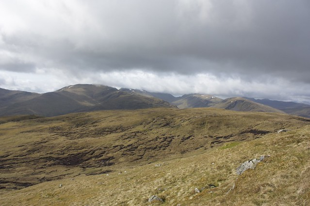 View across to Ben Lawers range
