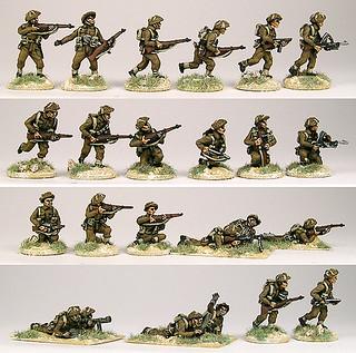 20mm Warmodelling British Infantry (CAEN)