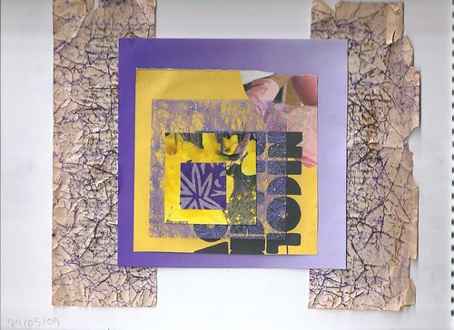 Mod 4 Act 1 - Purple and Yellow Collage