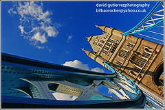 London Tower Bridge ~ A New Day, A New Perspective ~ (davidgutierrez.co.uk) Tags: road city uk greatbritain travel bridge blue england sky urban color reflection green london tower tourism colors westminster fashion wheel thames modern clouds towerbridge river pier education media europe diverse angle unitedkingdom britain sony south politics capital great culture cityscapes bank millenium landmark icon entertainment hungerford walkway historical alpha multicultural riverthames metropolitan touristattraction attraction countyhall cityoflondon tilting squaremile cityofwestminster worldicon londoncolors londoncolour muncipality londoncolor londoncolours visionqualitygroup