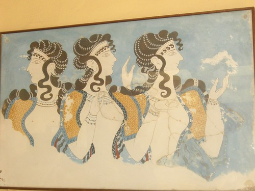 ladies at knossos