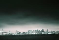 SAN FRANCISCO. Ca. 6-2009 (the phunktOGraphist) Tags: california film june fog treasureisland minolta overcast 2009
