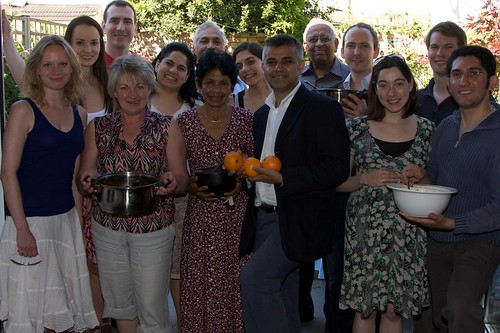 Sadiq supports local diabetes campaigners