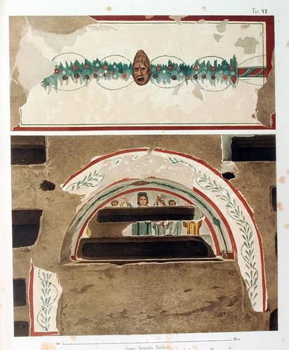 016-Pinturas de dos Arcosolios-La Roma sotterranea cristiana - © Universitätsbibliothek Heidelberg