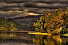 Angry Sky (Shuggie!!) Tags: reflection water landscape scotland williams karl slideshow trossachs hdr aberfoyle lochard explored anawesomeshot theunforgettablepictures karlwilliams goldendiamondblog