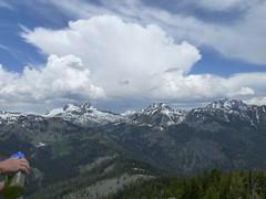 Cool clouds looking towards Hawkins and Esmerelda