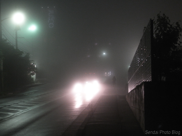 Foggy-Night-in-Sendai