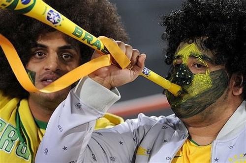 The vuvuzela has caused much controversy at the Confederations Cup
