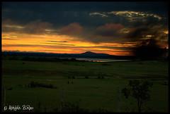 Sunrise (Abhijith B.Rao) Tags: india sunrise nikon hassan redsky karnataka daybreak nikond80 nikkor18135mm therappa