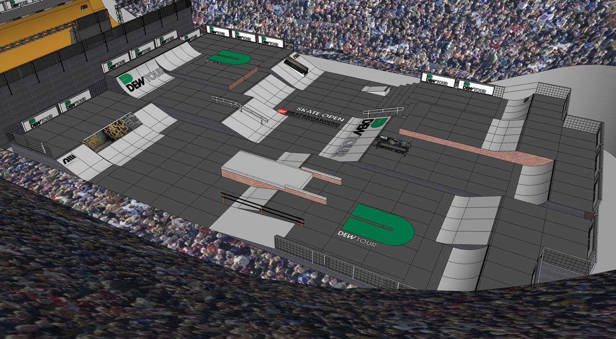 Skate Park Course Design