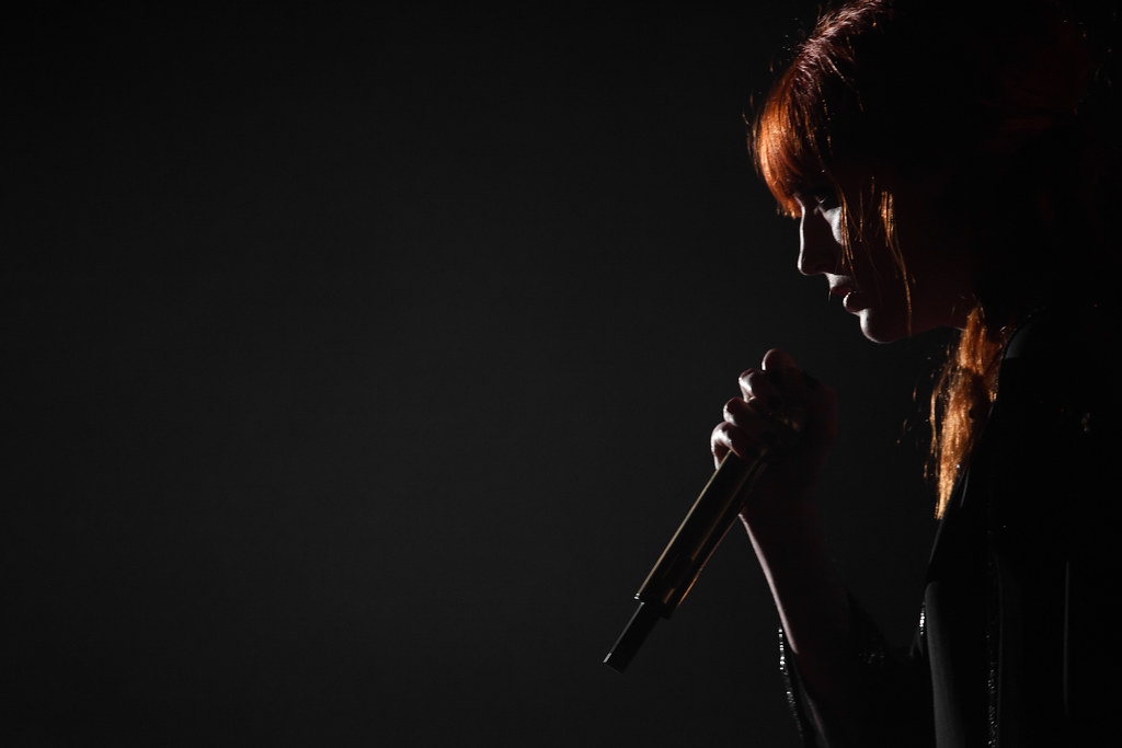 Florence & The Machine: moody shot!