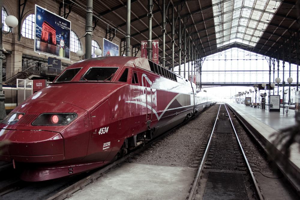 Thalys à destination de Paris Nord