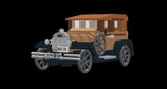 Ford Model A Leatherback Sedan - 1928