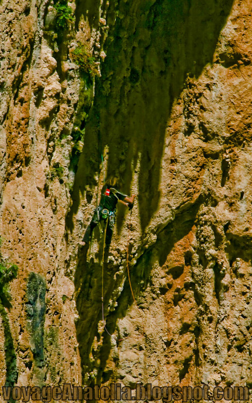 Rock Wall Climbing at Kaputash Canyon