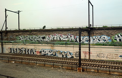 RETNA // SCREW (alankin) Tags: bridge 15fav streetart philadelphia train geotagged screw graffiti pennsylvania tags 100views rails fromthetrain inpassing philly walls skrew septa sire mantua urbanlandscape r8 trainline retna railroadbridges cense niknala nikkoraf24mmf28 nikond300 chestnuthillwestline 14may2008 skrewcense geo:lat=39965225 geo:lon=75190986 1300144amu