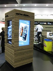 Retail fitouts using X-Board Kraft