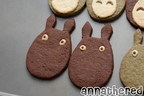 Non-bento #37: Totoro cookies